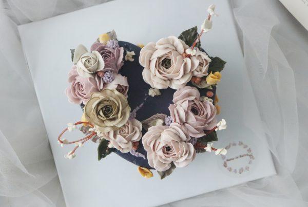Advanced i Korean Flower Piping Class