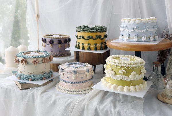 Vintage Cake decorating class